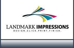 Landmark Impressions Logo Design