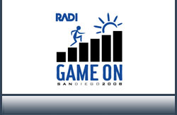 RADI Game On Logo Design